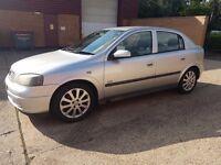Vauxhall Astra 1.6 i 16v SXi 5dr 1 OWNER, LONG MOT. 595 Ono