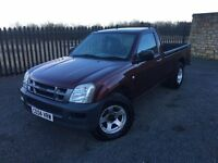 2004 04 ISUZU RODEO 2.5 *DIESEL* PICKUP - *LOW MILEAGE* - JULY 2017 M.O.T!