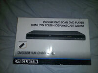 Curtis Charcoal Fullsize DVD Player 3081UK HDMI SCART VIDEO