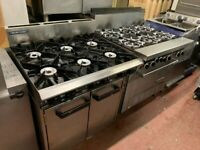 COMMERCIAL CATERING GAS COOKER UNDER OVEN BLUESEAL FAST FOOD TAKEAWAY