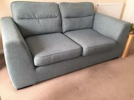 DFS 2 Seater Sofa and Arm chair