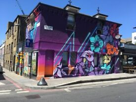 Live/work space, canalside, Shoreditch, Hoxton