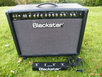 BLACKSTAR SERIES A 45 COMBO 2 X 12 with castors and footswitch