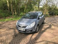 Vauxhall Corsa Club A/C,2008,Auto,1.2,only 32k warranted mileage,HPI Clear,1 Previous owner,FSH£2995