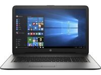 HP 17-y002na Laptop - 17.3 Inch Display - 9 Months Old