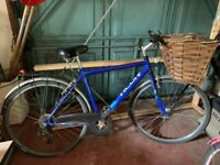 Ladies bike with wicker basket - FREE