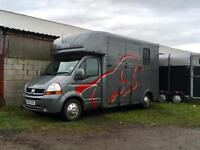Fantastic 3.5 tonne horsebox