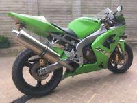 Kawasaki Ninja ZX636 Motorbike 2004