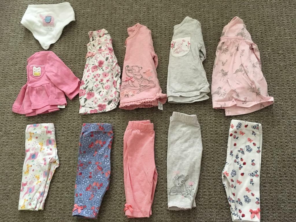 Baby Girl Newborn First Size Clothes Bundle In Reddish Manchester