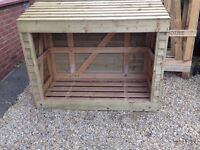 Wood Store / recycle bin store