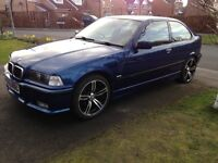 1999 BMW E36 318ti 3 Series Compact Sport - 66k miles