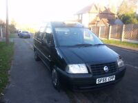 2006 55 Fiat Scudo/Peugeot Expert e7 Wheelchair Accessible Taxi
