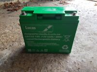 Lucas rechargeable battery and inverter