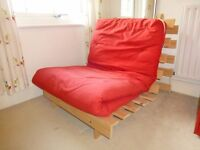 Single Futon Chair / Sofa Bed