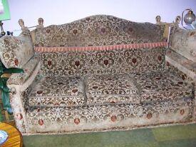 Antique Edwardian Knowle Sofa