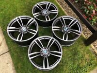 "BMW 437M STYLE 19"" ALLOY WHEELS - GREAT CONDITION - SUIT 3 OR 4 SERIES F30"