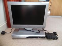 TV, Freeview box and dvd player