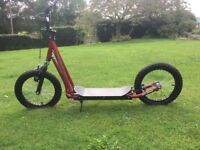 Dirt Dawg Diggler offroad scooter