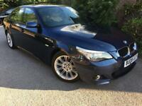 BMW 520d M Sport with SAT NAV