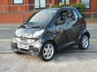 03 SMART CITY 600CC PULSE CABRIOLET + NEW MOT + 47K
