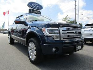 2014 Ford F-150 Platinum | LEATHER | SUN ROOF | TONNEAU COVER |