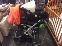 Little Devil Push Chair & Car Seat + Accessories