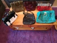 Collection ladies handbags