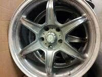 "18"" 5Zigen Super Six Rims"