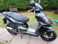 Piaggio NRG 50cc 2010 only 6484 mls unrestricted 40mph+ spares or repairs
