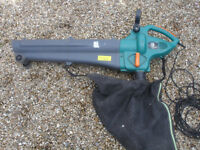 Electric Leaf blower and vacuum Power Base 1800w 35ltr collection bag