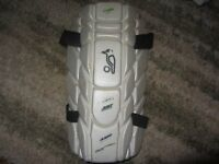 CRICKET BATTING SHORTS, THIGH PAD & BOX - USED
