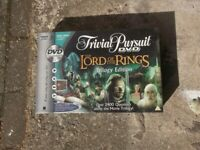 Lord of the Rings Trivial Pursuit DVD Game