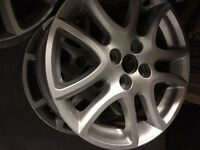 "3 X Mazda used alloy wheels 16"""