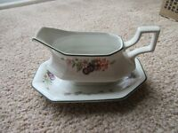 Fresh Fruit Gravy boat and stand