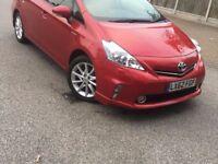 Red Toyota Prius Plus! Genuine low mileage! Fresh Import - Uber ready! FREE road tax!!