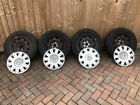 Vw T4 Steel Wheels