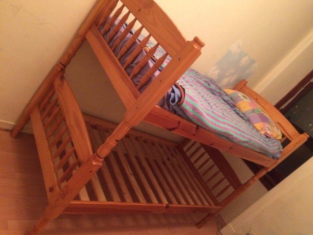 Bunk bed.