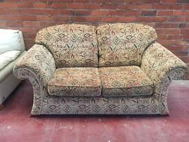 Tribal Patterned 2 Seater Sofa - Exc Cond - CAN DELIVER