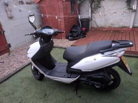 Lexmoto fmx 125 scooter