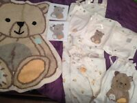 Mothercare Precious Bear Nursery set