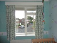 Lined Thermal Blackout Curtains For a baby or child room