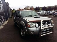 breaking silver nissan navara d22 double cab yd25 4x4 sport parts spares repairs
