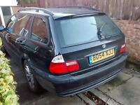 2004 BMW E46 Touring 320d M47N ES estate schwarz black BREAKING FOR SPARES