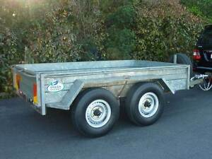 Hans Welding Works 10x6 Tandem Axle Box Trailer Ex Ergon Energy Maryborough Fraser Coast Preview