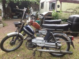 TWO Garelli Concorde BiMatic mopeds FOR SALE. 1981/1973 both have V5C. Economical, beat traffic jams