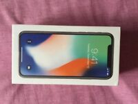 iPhone X 256 GB , Silver