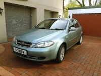 Excellent Condition Low Miles Daewoo Lacetti 1.6 Hatchback Automatic