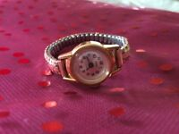 This Is A Lovely Vintage Smith's 17 Jewels 9ct Rolled Gold Ladies Watch