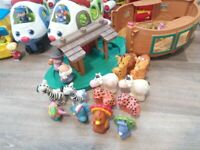 Large bundle of Little People Toys good condition well over 40 pieces