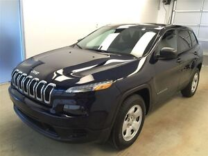 2014 Jeep Cherokee Sport- 4x4, Bluetooth, Touchscreen